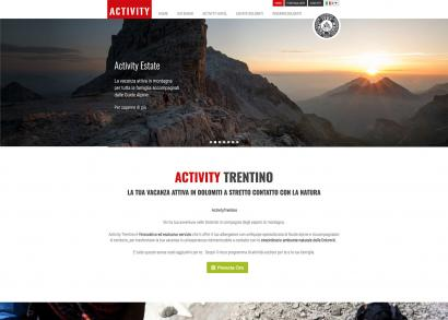 Sito web - Activity Trentino