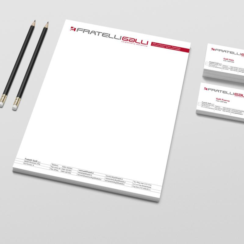 GBF - Immagine coordinata, brochure e roll-up Fratelli Galli